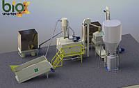 Участок гранулирования 1500-2000 кг/ч  1.5-2.5 т.ч. / до - 15%