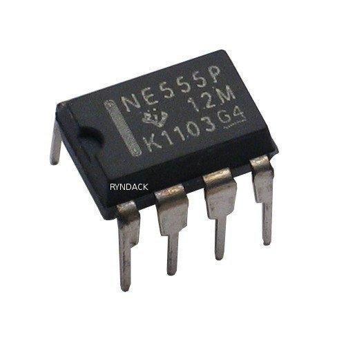 NE555P, Прецизионный таймер DIP8 (КР1006ВИ1, =LM555)