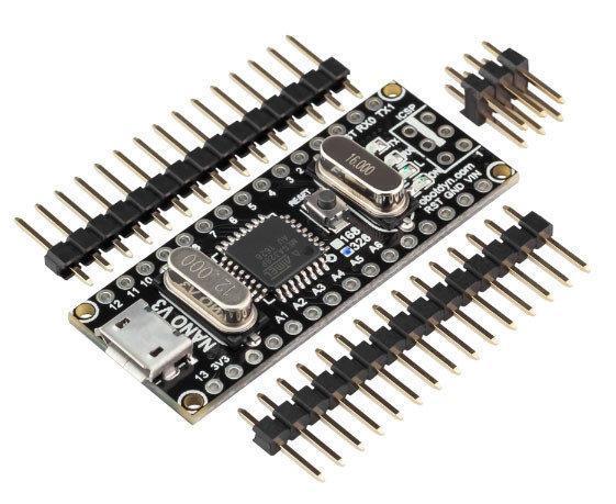 Arduino NANO V3.0 ATmega328/CH340G, micro USB