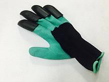 Садовые перчатки с когтями garden genie gloves, фото 2