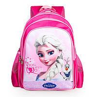 Розовые школьные рюкзаки для девочек с рисунком Рапунцель