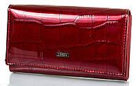 Стильный кошелек женский кожаный LOREN (ЛОРЕН) DNK72035-CB-red красный