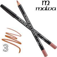 Malva Карандаш для губ M-900 Juicy Pencil Тон 03 natural матовый
