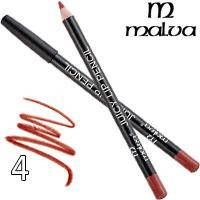 Malva Карандаш для губ M-900 Juicy Pencil Тон 04 terracotta матовый, фото 2