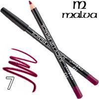 Malva Карандаш для губ M-900 Juicy Pencil Тон 07 lilac wine матовый
