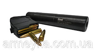 "Глушитель для АКM 7.62x39  ""Steel"" Gen 2"