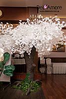Искусственное белое дерево ,очень красивое,аренда