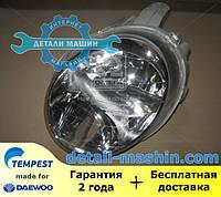 Фара левая Матиз 01 (электрическая) (пр-во TEMPEST) 020 0141 R3C Daewoo MATIZ