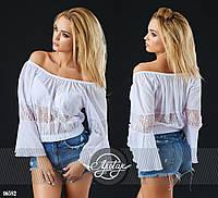 Молодежная легкая  блуза - 16582