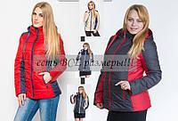 Осенняя женская куртка на синтепоне. Оптом