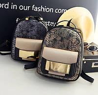 Женский рюкзак кожа ПУ