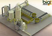 Линия гранулирования 4000-5500 кг/ч   2.5-5 т.ч. / до - 15%