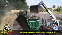 Дробилка щепорез для древесины и ТБО