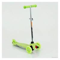 Самокат детский 466-112 Best Scooter, светящиеся колеса,тормоз KK