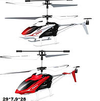 Р.У.Вертолет Syma S5 с гироскопом,аккум.метал.USB,свет.2цв.кор.29*7,9*28 см