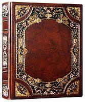 """Книга почетных гостей Книга почетных гостей   25см х 34см  натуральная кожа """"Сенат"""" Foliant (EG468 x 97514)"""