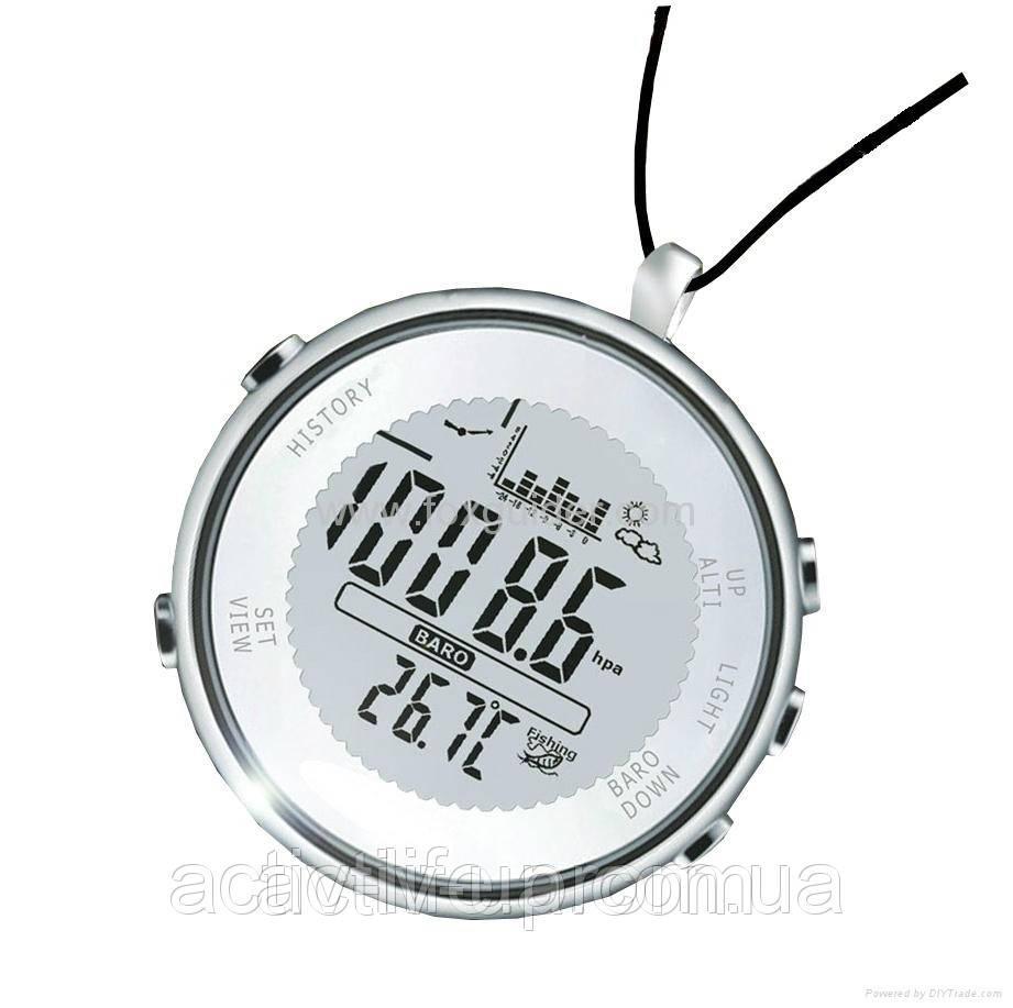 Рибальський барометр годинник SunRoad FX600 c термометром, альтиметром