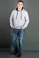 Мужская толстовка Рунэ (серый), фото 1