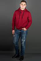 Мужская толстовка Рунэ (бордовый), фото 1