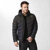 Мужская зимняя куртка-пуховик Рибок с капюшоном Outdoor Downlike BR0451