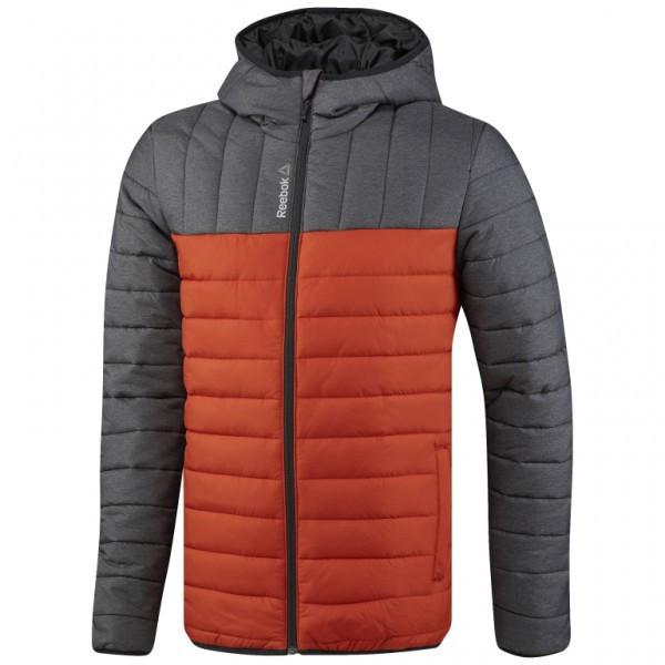cf1821fa2681 Утепленная стеганая куртка Reebok Outdoor мужская BR0467 - Интернет магазин  Tip - все типы товаров в