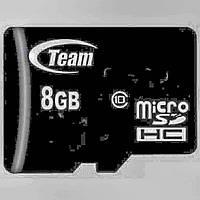 Карта памяти 8GB Class 10 TEAM GROUP microSDHC. (4097.10)