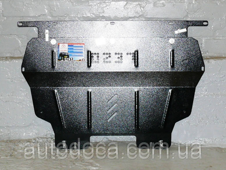 Защита картера двигателя и кпп Peugeot Partner Teppe  2008-