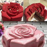 Форма Роза для евродесертов силиконовая 29х5,8см