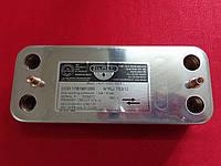 Теплообменник вторичный ГВС Zilmet на 12 пластин, фото 1