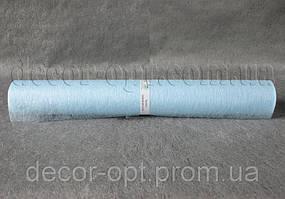 Флизелин голубой 50см/ 10ярд арт.30