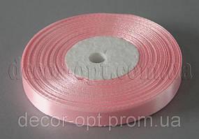 Лента атласная нежно-розовая(148) 0,9 см 36ярд