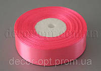 Стрічка атласна рожева 2,50 см 36ярд арт.5