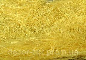 Сизаль желтая 35-40гр