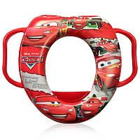 Детская мягкая накладка на унитаз Prima-Baby Cars Красный (8680)