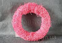 Основа рожева для композицій натур. 26 см