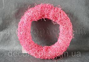 Основа розовая для композиций натур. 26 см