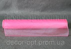 Органза бледно-розовая 35 см / 10 ярд