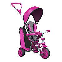 Детский велосипед Spin Y STROLLY Розовый с большой сумкой 100897 ТМ: Y Strolly