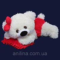Мишка-Малышка 45 см красная