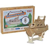 Деревянный конструктор Strateg Яхта (365)