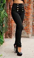 Элегантные лосины черные
