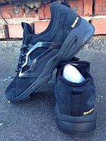 Кроссовки Reebok Fury Adapt черные замша, фото 1
