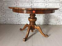 Итальянскии обеденный стол (нераздвижной). До реставрации.