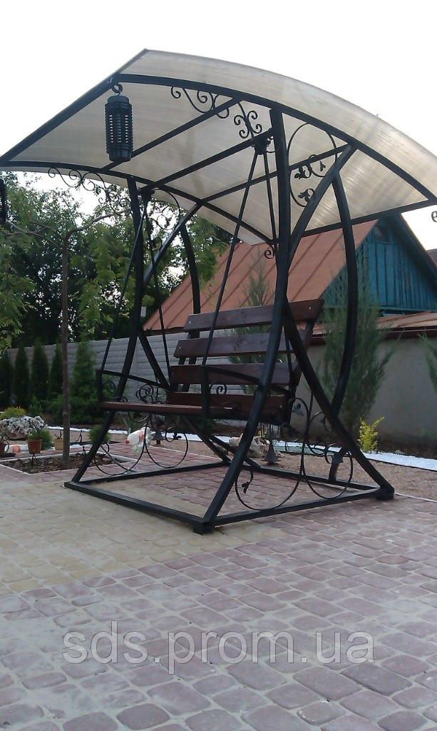 Кованая качеля в Днепропетровской области