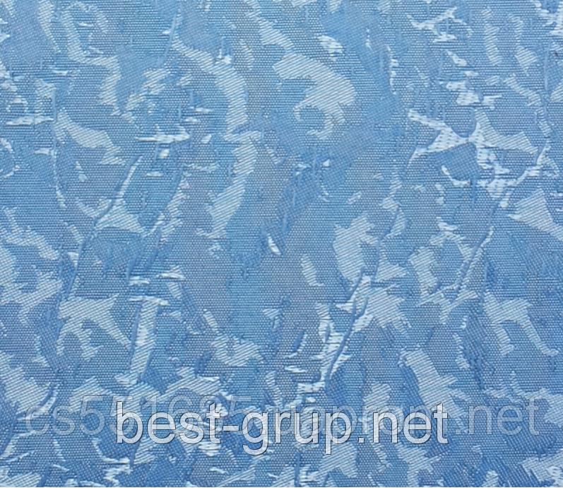 MSV-042 Блакитна (0,475 х 1,70 м) Venecia (Венеція) -тканинні ролети Oasis Оазис