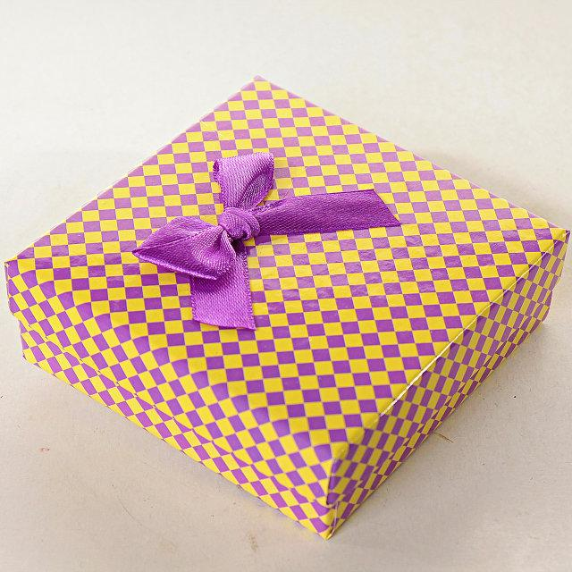 Подарочная коробочка для набора Ромбик Ассорти