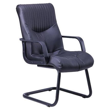 Кресло Геркулес CF Кожа Сплит черная (AMF-ТМ), фото 2