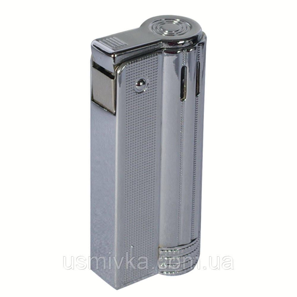 Фирменная бензиновая зажигалка imco 6600 Junior silver