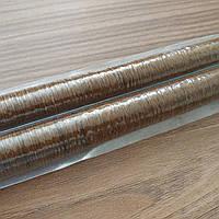 Сосисочная оболочка коллагеновая, диаметр 19 мм, цвет махагон