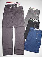 Интересные Котоновые брюки на мальчика 12-14 лет